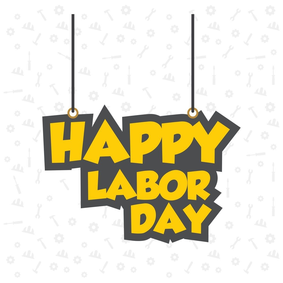 Happy Labor Day --Designed by Freepik